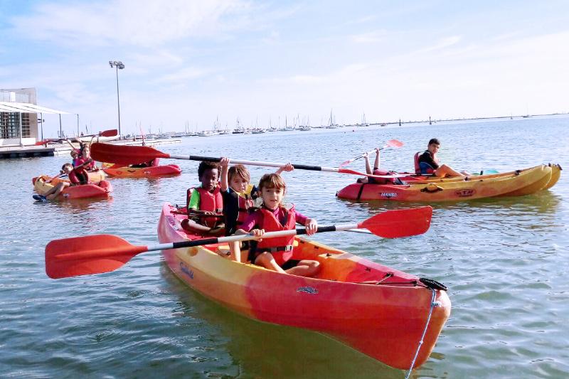 Seaworld kayak actividad